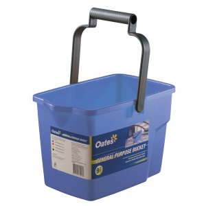 Oates Rectangle Bucket Blue 9 Ltr