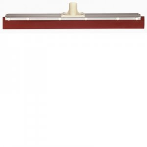 Oates Rubber 60cm Floor Squeegee - Head Only - Red