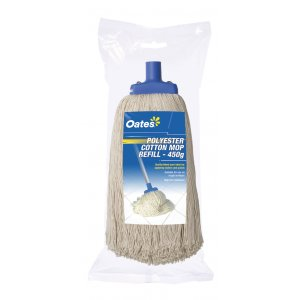 OATES POLY COTTON MOP 24oz (450gm) Head Only