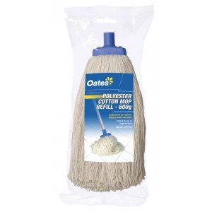Oates Poly Cotton Mop 30oz (600gm) Head Only