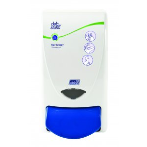 Deb Cleanse Hair & Body Shower 1l Dispenser