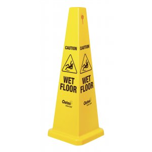 Sign Cone Wet Floor (yellow)