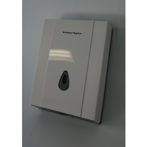 Bh Slimline Dispenser 8035a White