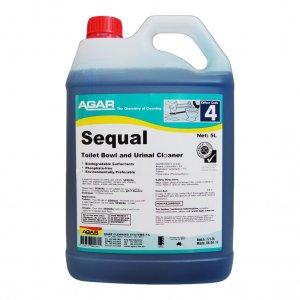 Agar Toilet Cleaner Sequal 5ltr