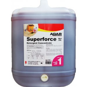 Agar Detergent Superforce Concentrate 20ltr