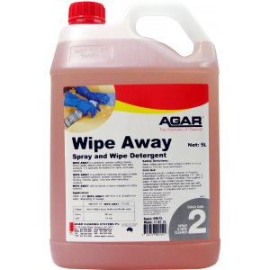 Agar Wipe Away Spray & Wipe 5ltr