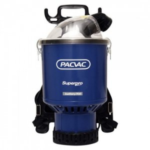Pacvac Battery Backpack Vacuum - New Version