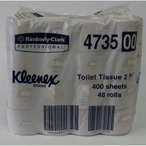 Kc4735 Deluxe 2ply Toilet Rolls 400 Sheets 48 Ctn