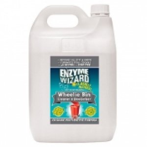 Enzyme Wizard Wheelie Bin Cleaner/deodoriser 5ltr