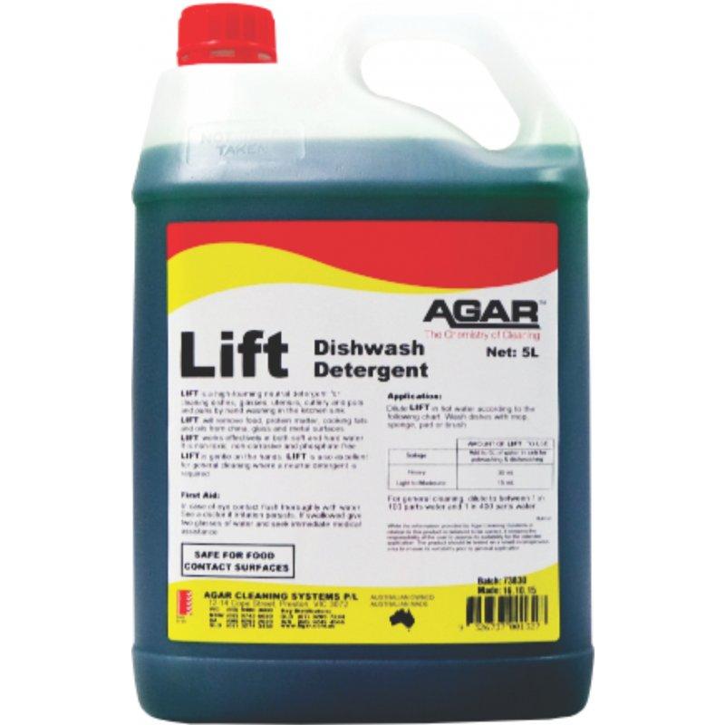 Agar Detergent Lift Manual Dishwash 5ltr Chkpli05
